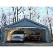 Two Car Peak Style Garage 22X24X12 Replacement Cover