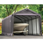 12' X 25' X 11' Square Tube Shelter Garage