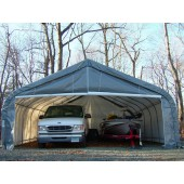 22' X 24' X 12' Two Car Peak Style Garage