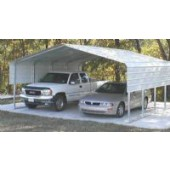 Steel Car Port 22X24X12