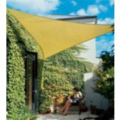9'10&quot;  TRIANGLE SUN SHADE SAIL (Desert Sand)