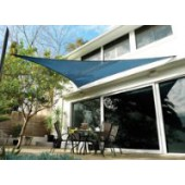11'10&quot;  TRIANGLE SUN SHADE SAIL (Ocean Blue)