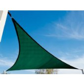 11'10&quot;  TRIANGLE SUN SHADE SAIL (Brunswick Green)