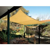 11'10&quot; SQUARE SUN SHADE SAIL (Desert Sand)