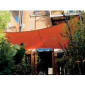 "11'10"" SQUARE SUN SHADE SAIL (Terracota Orange)"