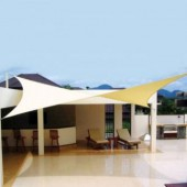 17'9&quot;  SQUARE SUN SHADE SAIL (Desert Sand)