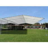 30' X 100' / 2&quot; Commercial Duty Outdoor Canopy