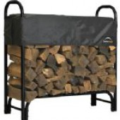 Shelterlogic Covered Firewood Rack-4ft Long