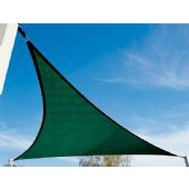16'5&quot; TRIANGLE SUN SHADE SAIL (Brunswick Green)