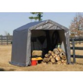 10' X 10' X 8' Portable Storage Shed