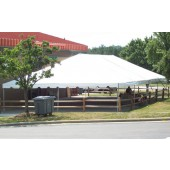 "Celina Commercial Duty 40' X 120' / 2"" Dia. Classic Frame Party Tent with Aluminium Poles"