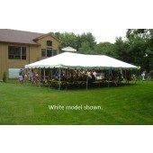 "Celina Commercial Duty 20' X 30' / 2"" Dia. Classic Frame Tent with Galvanized Steel Poles"