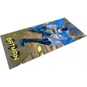 Batman Climbing Character Beach Towel
