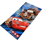 Cars Character Beach Towel