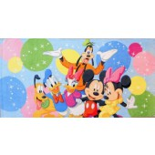 Mickey and Friends Character Beach Towel