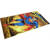 Superman Firely Planet Character Beach Towel