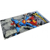 Superman Rocks Character Beach Towel