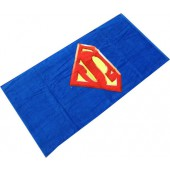 Superman Shield Character Beach Towel