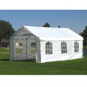12' X 20' / 1 5/8&quot; Enclosed Canopy with French Windows