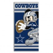 Mickey Cowboys Disney Sports Beach Towel