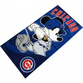 Mickey Cubs Disney Sports Beach Towel