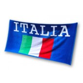 Italia Flag Beach Towel