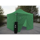Impact 10' X 10' AOL with 4 Sidewalls Package Deal - Kelly Green