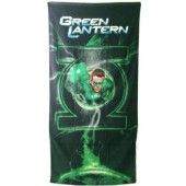 Green Lantern Licensed Beach Towel