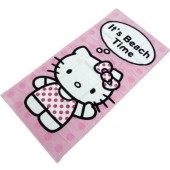 Hello Kitty Beach Time Licensed Beach Towel