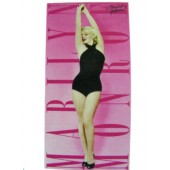 Marilyn Monroe Pin Swim Licensed Beach Towel