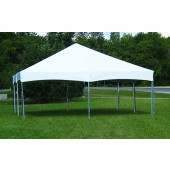 "Celina Commercial Duty 20' X 20' / 2"" Dia. Master Series Cinch Top Frame Party Tent with Galvanized Steel Poles"
