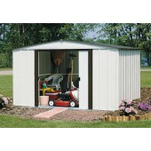 Newburgh 10 ft. X 8 ft. Steel Storage Shed