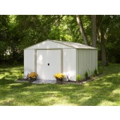 Oakbrook 10 ft. X 14 ft. Steel Storage Shed