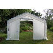 LARGE BACKYARD GREENHOUSE 12'W X 24'L X 8'H
