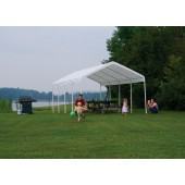 "12' X 26' / 2"" Commercial Valanced Canopy"