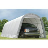 13' X 24' X 10' Round Style Extended Garage