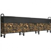 Shelterlogic Covered Firewood Rack-12ft