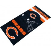 Bears Helmet NFL Sports Beach Towel