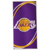 Lakers Circle NBA Sports Beach Towel