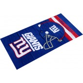 New York Giants Helmet NFL Sports Beach Towel
