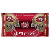 San Francisco 49ers NFL Sports Beach Towel
