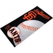 San Francisco Giants MLB Sports Beach Towel