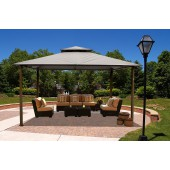 STC 11ft X 14ft Gazebo with Textiline Canopy