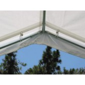 10 X 30 Canopy Valance Cover (White)