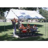 10 X 10 Heavy Duty Premium White Tarp