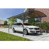 "9'16"" X 16'4"" Victoria 5000 Steel Carport W/ Polycarbonate Panels"