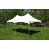 "Eureka Vista 10' X 20' / 2"" Dia. Frame Peak-Top Party Tent"