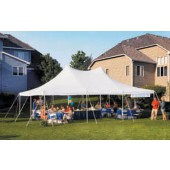 "Eureka Vista 20' X 30' / 2"" Dia. Frame Peak-Top Party Tent"