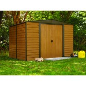 Woodridge Steel Storage Shed - 4 Sizes