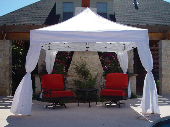 King Canopy 10 X 10 DuraLite with 4 Sidewalls Package Deal